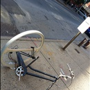 Derelict bike on metropolitan ave
