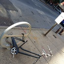 Derelict bike on metropolitan ave