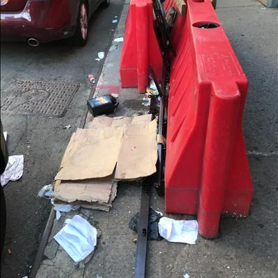 Trash near 179 East 117th Street, New York City