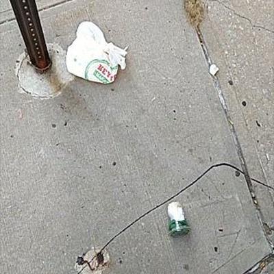 Trash near 83 Haven Avenue, New York