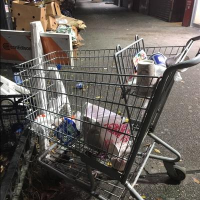 Trash near 164 East 116th Street, New York
