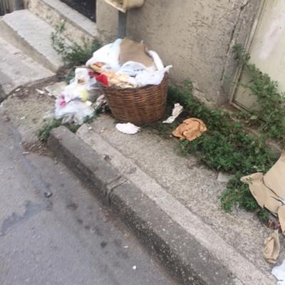 Trash near Karaağaç Caddesi, Karaağaç Mahallesi, Yıldırım, Bursa, Marmara Region, 16010, Turkey