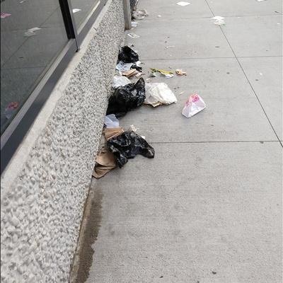Trash near 30-09 39th Avenue, New York