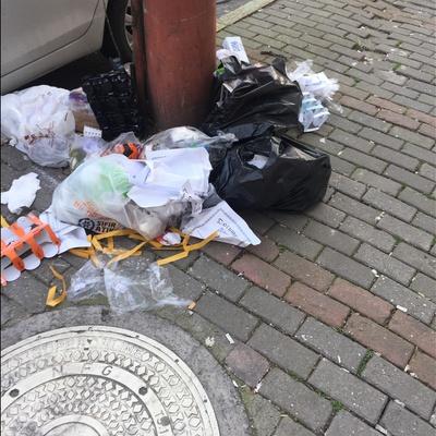 Trash near İpekçilik Caddesi, Karaağaç Mahallesi, Yıldırım, Bursa, Marmara Region, 16230, Turkey