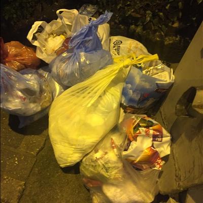 Trash near Karaağaç Mahallesi, Yıldırım, Bursa, Marmara Region, 16230, Turkey