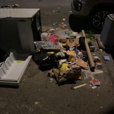 Trash near 182 East 117th Street, Manhattan Community Board 11