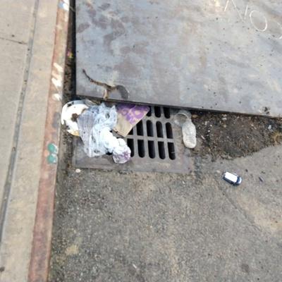 Trash near 28-10 14th Street, New York City