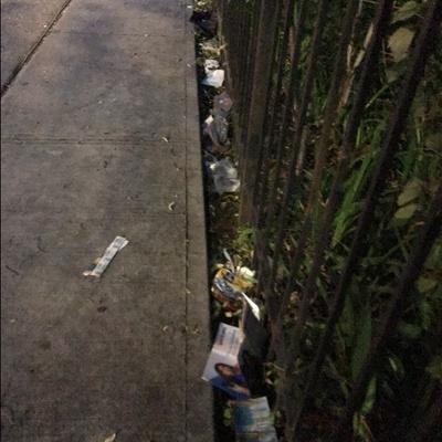 Trash near 1889 Lexington Avenue, New York