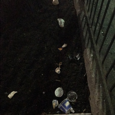Trash near 1890 Lexington Avenue, New York City