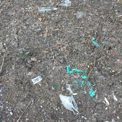 Trash near 38 Długa, Warsaw