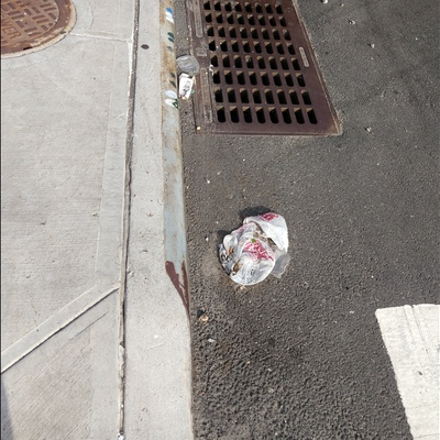 Trash near 22-02 41st Avenue, New York