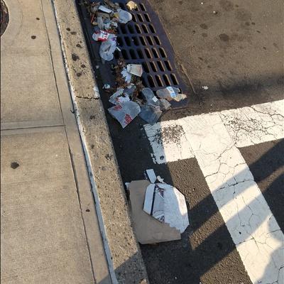 Trash near 23-42 30th Avenue, New York