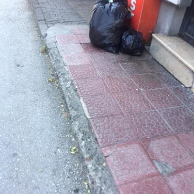 Trash near Kurtoğlu, Kurtoğlu Mahallesi, Yıldırım, Bursa, Marmara Region, 16230, Turkey