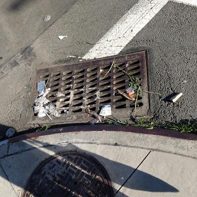 Trash near 14-34 28th Avenue, New York City