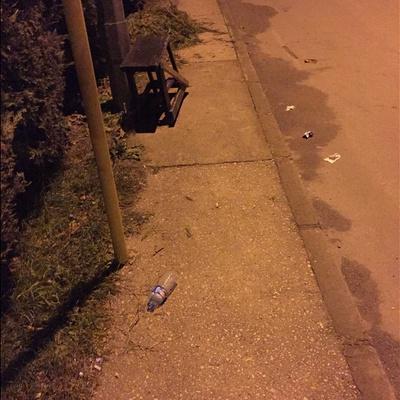 Trash near Yıldız Sokak, Demirtaş Organize Sanayi Bölgesi, Demirtaş Dumlupınar, Demirtaş Dumlupınar Mahallesi, Osmangazi, Bursa, Marmara Region, 16245, Turkey