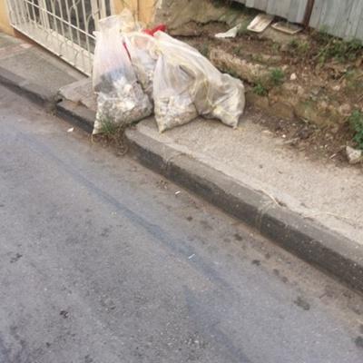 Trash near Karamani Sokak, Karaağaç Mahallesi, Yıldırım, Bursa, Marmara Region, 16230, Turkey
