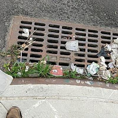 Trash near 30-89 21st Street, New York