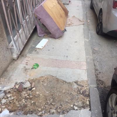 Trash near Genaral Şükrü Nailli Caddesi, Kurtoğlu, Kurtoğlu Mahallesi, Yıldırım, Bursa, Marmara Region, 16230, Turkey