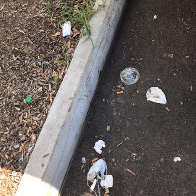 Trash near 1961 Hughes Avenue, New York