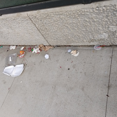 Trash near 30-03 39th Avenue, New York City