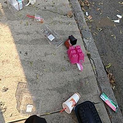 Trash near 11-23 30th Road, New York
