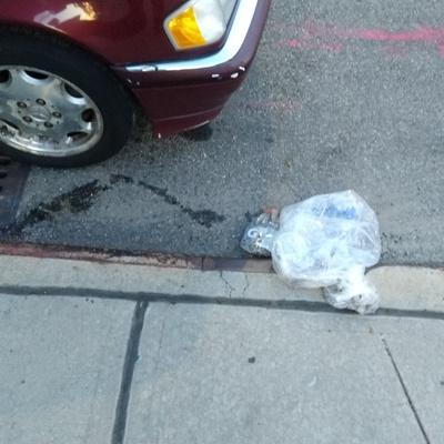 Trash near 12-12 Astoria Boulevard, New York City