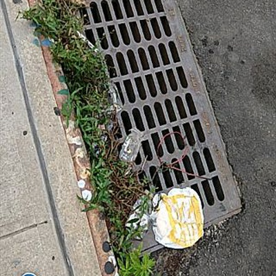 Trash near 28-10 14th Street, New York