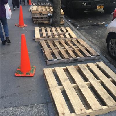 Trash near 865 Broadway, New York City